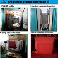 Wholesale best selling automatic injection moulding apg machine  for high voltage instrument transformer from china suppliers