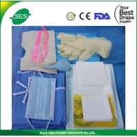 AAMI Level 4 nonwoven dispoisable sterile baby delivery kits/pack