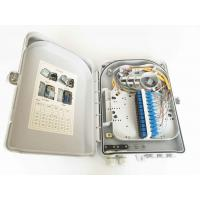 Wholesale 24 Cores FTTH Fiber Optic Outdoor Distribution Box IP55  Wall Mount Type And Pole from china suppliers