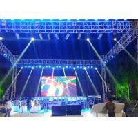 China Die Casting Aluminum Outdoor LED Screen Rental P6 Nationstar SMD2727 High Brightness on sale