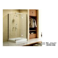 Wholesale Square Acrylic Tray Corner Shower Enclosures , Three Panels Glass Shower Enclosure from china suppliers