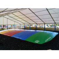 Buy cheap Outdoor Inflatable Jumbo Jumper Air Pillow 3 Years Warranty / Bouncy Pad from wholesalers