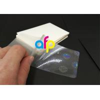 Wholesale Hologram Laminating Pouches Matte Finish / Glossy from china suppliers