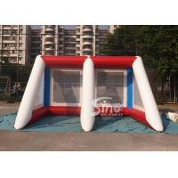 Wholesale Kids N adults challenge inflatable penalty football goal shoot over game for outdoor event from china suppliers