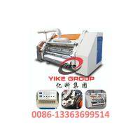 China Single Faced Corrugated Carton Machine 1400-1800mm Width Hard Chrome Material for sale