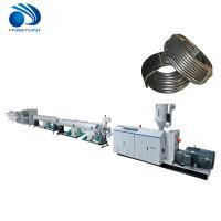 China PE PP Pvc Electrical Conduit Pipe Making Machine Fully Automatic Low Noise on sale