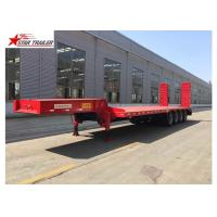 Wholesale Extendable Extendable Semi Trailer 30-200T Payload Leaf Spring Or Air Bag from china suppliers