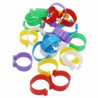 Wholesale Customized Size Animal Poultry Leg Rings For Farm Animal Tracking Management from china suppliers