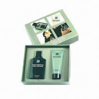 China Face Cream Gift Box, Made of PU Leather, Greyboard and Mirror for sale