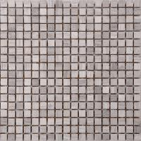 China Wood Grain Stone Mosaic Bathroom Sink Splashback Tiles , Bathroom Countertop Tile Morden Design on sale