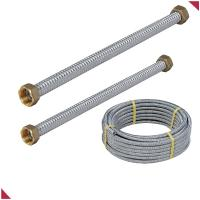 flexible stainless steel pipe with copper conenctors for sale
