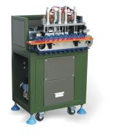 Best Green Full Automatic Wire Cutting Stripping Machine for 3 Core Power Cable wholesale