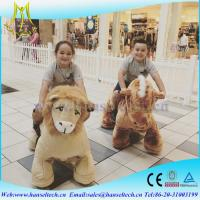 China Hansel  high quality Coin operated easy rider electric scooter animal electric vehicle for mall on sale