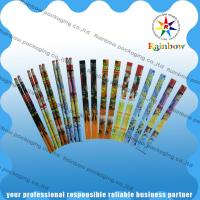 PVC / PET Shrink Wrap Sleeves With Customized Printing For Pen / Pencil for sale