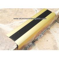 Wholesale TL30 Matt Gold Non Slip Aluminum Stair Splint With Rubber For Staircase Edge from china suppliers