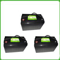 Wholesale Deep cycle rechargeable  lithium ion solar energy storage lifepo4 12V 100Ah battery from china suppliers