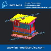 Wholesale plastic thinwall ice cream container mould, designing for thin wall ice cream tub mould from china suppliers