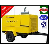 Best Energy saving portable screw type air compressor mobile low fuel consumption LGCY-9/7 wholesale