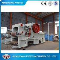 Wholesale ROTEX 2-6T/H Wood Sawdust Machine With CE for Peanuts Shells , Cotton Seed Fur from china suppliers