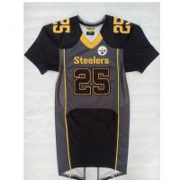 Wholesale Official Short Sleeve Football Jerseys , Sublimated Team Football Uniforms from china suppliers