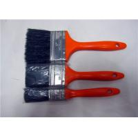 Multi Color Plastic Handle Flat Shape Wall Cleaning Brush , Paint Brushes For Ceiling