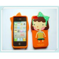 China Cute Romania Silicone Cell Phone Case For  IPhone 5S / 5G  on sale
