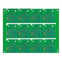 China Edge Plating Green Color FR4 Printed Circuit PCB Board Assembly Design on sale
