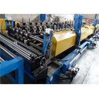Ribbed Steel Cable Tray Roll Forming Machine 10-20m/min Product Speed Cr12 Roller