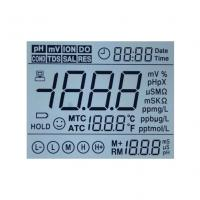 China White Backlight TN LCD Display For Air Conditioner Mono LCD Module on sale