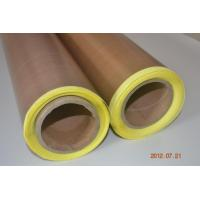 Wholesale PTFE/Teflon coated glass cloth adhesive tape with release paper from china suppliers