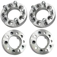 32mm Wheel Spacers Adapters 5x4.5 to 5x5 | 1.25 Thick | 12x1.5 Studs for sale