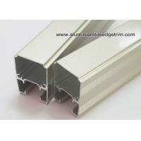 Buy cheap Extruded Anodized Aluminum C Slide Track Channel / Tubes For Sliding Door from wholesalers