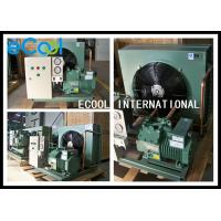 Compact Central Air Conditioner Condenser / Commercial Condensing Unit for sale
