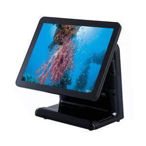 China Plastic Housing Pos Cash Register Intel Celeron I5 Dual Core CPU And 8 Digital LED Display on sale