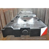 Wholesale Construction Machinery Parts Crane counterweight With CE ISO Approved from china suppliers