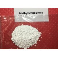99.08% Methylstenbolone Prohormone Raw Powder , Strong Muscle Recovery Supplements CAS 5197-58-0