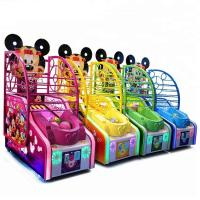 Wholesale Arcade Mickey Basketball Shooting Game Machine Metal Cabinet Firm And Durable from china suppliers