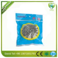 Wholesale household cleaning steel wool ball clean the pot stainless mesh scourer from china suppliers
