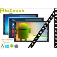 """Riotouch 50"""", 55"""", 65"""", 70"""", 84"""" 10 users 4K LED touch screen monitor from China"""