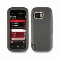 Wholesale Silicone Skin Case for Nokia 5800, Various Colors are Available from china suppliers