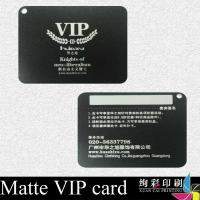 Silk Screen Business Cards Plastic Contactless Smart Card 0.3mm for sale