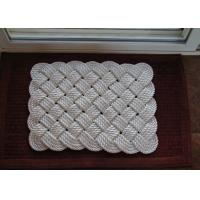 Wholesale polyester 3-strand twist rope code used to anti-slip door chafing mat from china suppliers