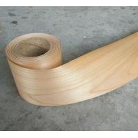 Wholesale Profile Wrapping Cherry Veneer Rolls for Furniture Cabinetry Moulding Door and Window Industries from china suppliers