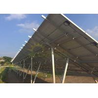 Wholesale OEM Solar Panel Racking System , Durable Solar Pv Mounting Structure from china suppliers