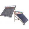 155 - 450 L Capacity Vacuum Tube Solar Water Heater , Passive Solar Water Heater for sale