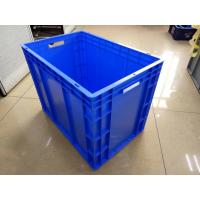 Wholesale Virgin Polyethylene Blue 600*400 mm Euro Stacking Containers With Loading Capacity 40kg from china suppliers