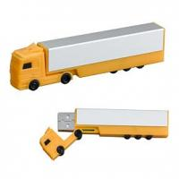 Truck shape Customized USB Flash Drive with 256MB, 512MB, 1GB, 2GB capacity (MY-U049) for sale