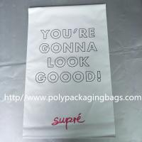 Buy cheap Courier bag white parcel bag express bag new material thickened 12 silk waterproof bag can be customized printing from wholesalers
