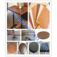 Buy cheap sell oak color restaurant table top from wholesalers