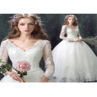 Buy cheap Ladies Wedding Party Dresses V-neck in Soft ChiffonElegant Style from wholesalers